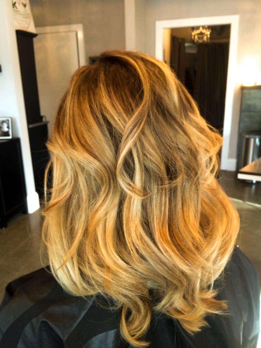 Balayage hair style Beaverton